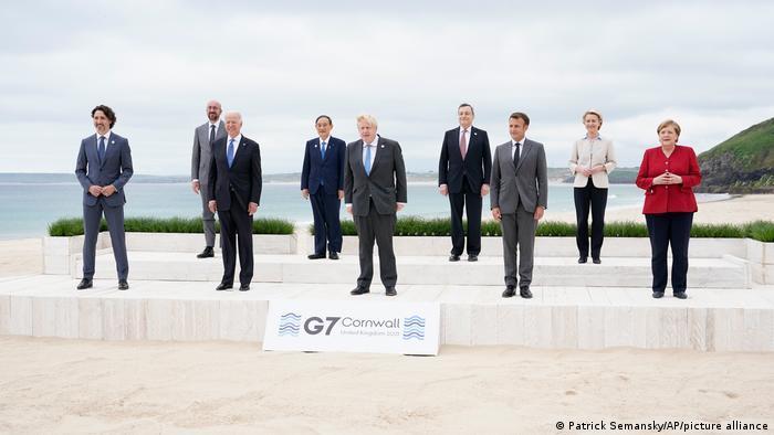 G7: جاھاندى الاڭداتقان ساۋالدارعا جاۋاپ