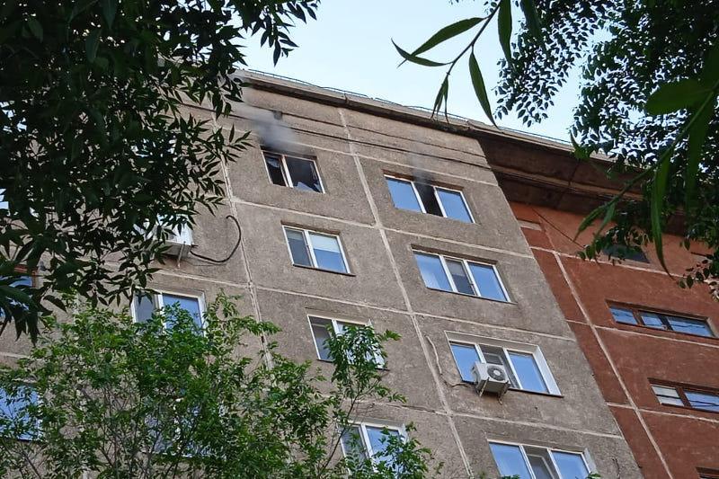 Пожар произошел в квартире жилого дома в Павлодаре