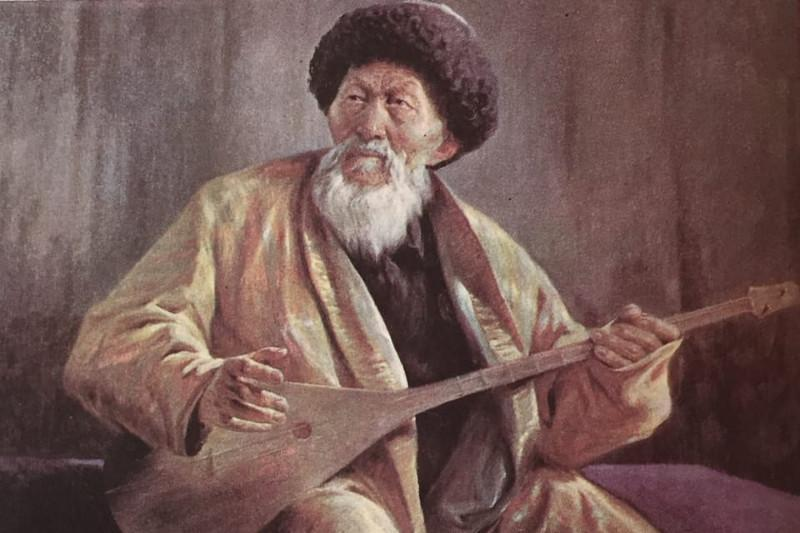 Алматыда Жамбыл Жабаевтың 175 жылдығына арналған көрме ашылды