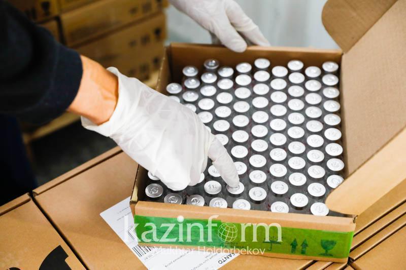 哈萨克斯坦的疫苗运输工作正在如期开展