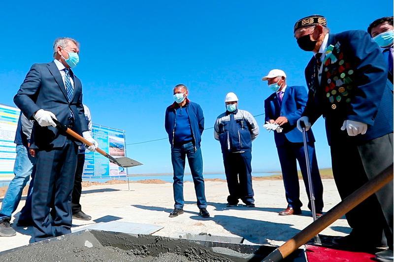 В ВКО начато строительство самого длинного моста в Казахстане