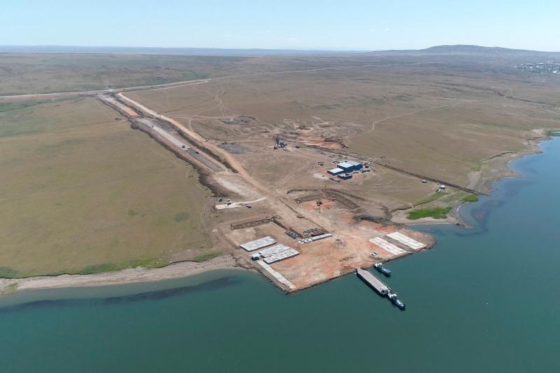 哈萨克斯坦最长大桥工程在东哈州开工