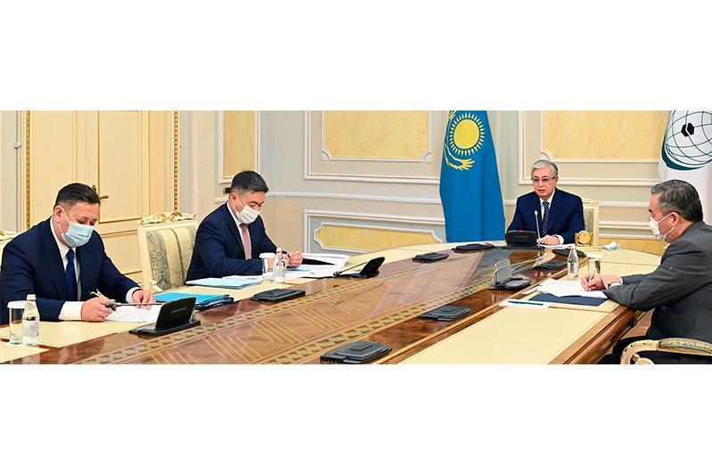 托卡耶夫总统出席伊斯兰合作组织科技峰会