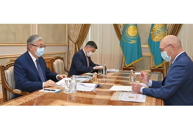 Кайрат Келимбетов доложил Президенту о разработке нацпроектов