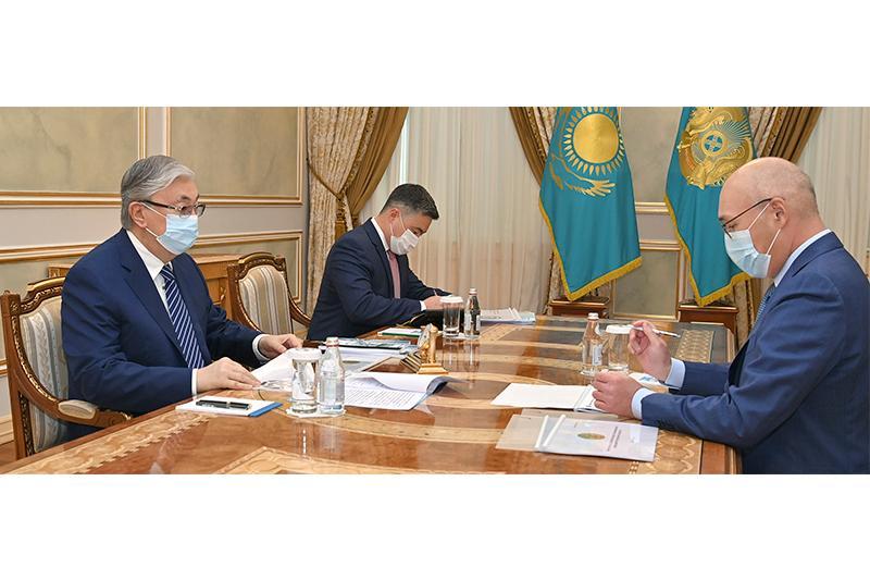 总统接见战略规划和改革署署长