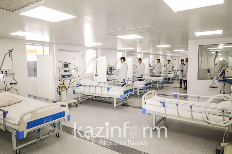 На 20% заполнены инфекционные стационары в Жамбылской области