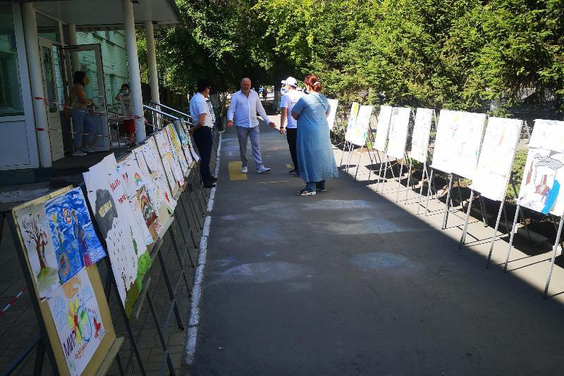 «Аллею добропорядочности» создали дети в Павлодаре