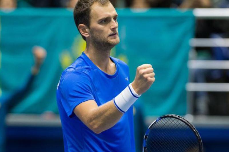 Nedovyesov of Kazakhstan reaches Czech Open doubles semifinal