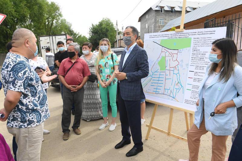 Не снижать динамику развития Наурызбайского района поручил аким Алматы