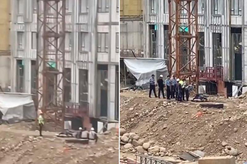 Алматыдағы құрылыс алаңында жұмысшы мерт болды
