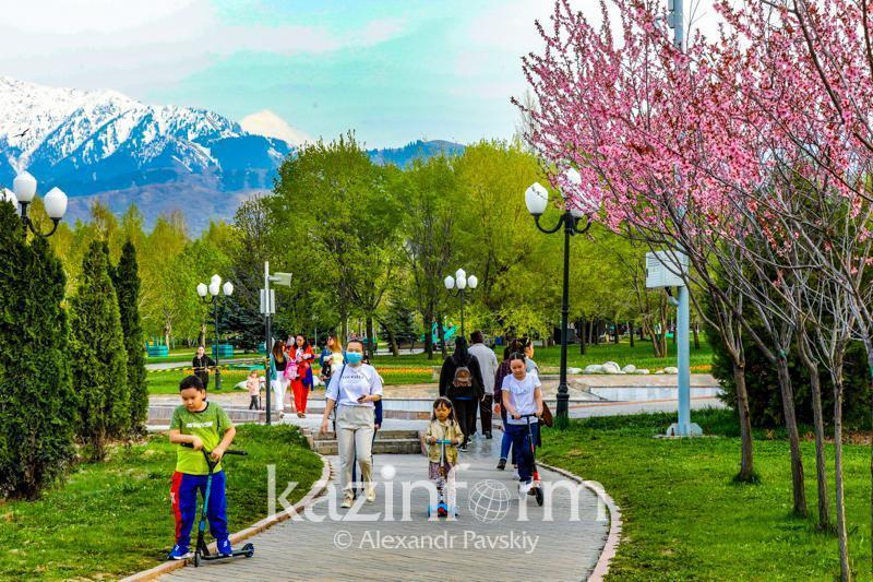 Almaty sees 2fold drop in COVID-19 cases in June