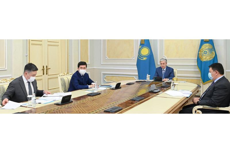 Қасым-Жомарт Тоқаев газ саласын дамыту жөнінде кеңес өткізді