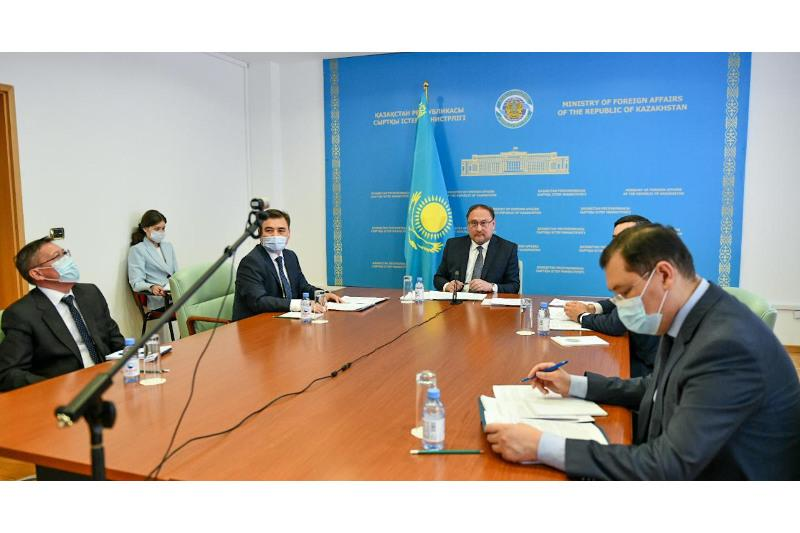 Kazakhstan–U.S. cooperation prospects discussed