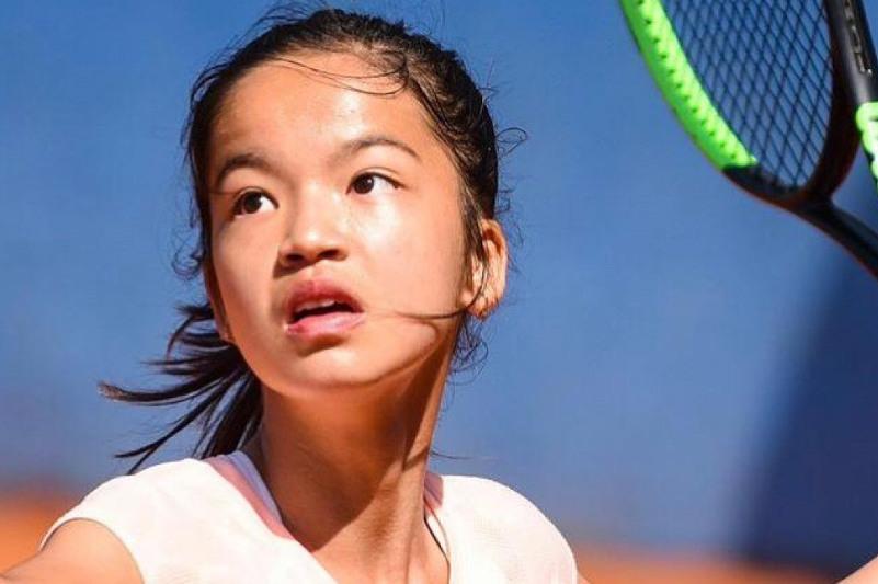 Зара Даркен вышла в полуфинал турнира Ukrainian Junior Open