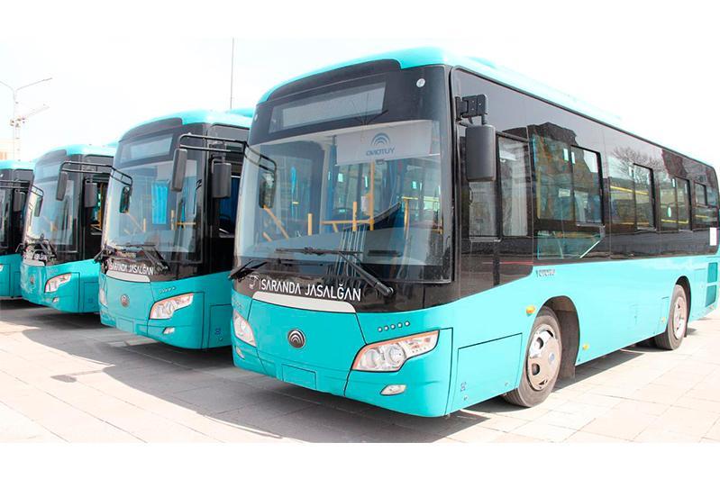 Қарағанды және Теміртау автопарктері жаңа автобустармен толығады
