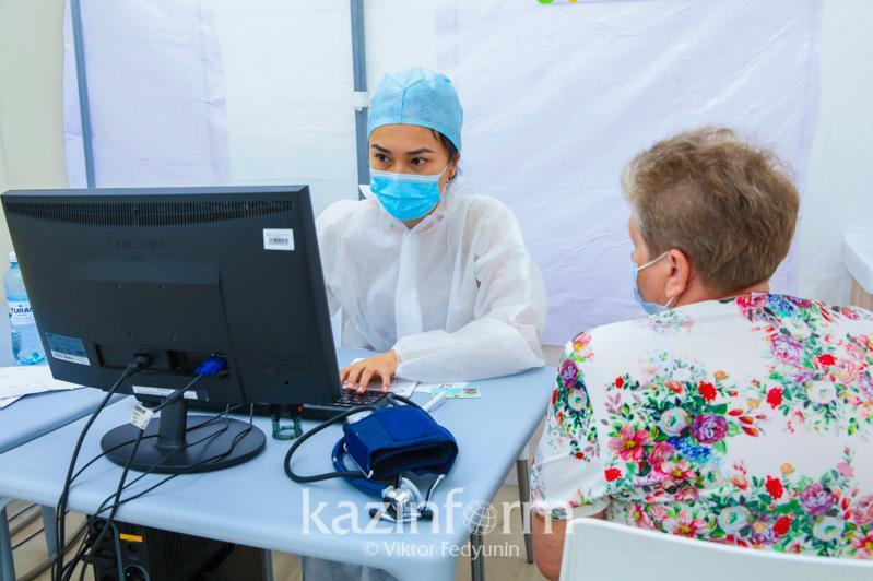 Қозоғистонда 2 676 299 киши коронавирус вакцинасининг 1-компоненти билан эмланди
