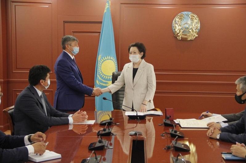 Акан Абдуалиев назначен председателем Комитета по культуре Министерства культуры и спорта