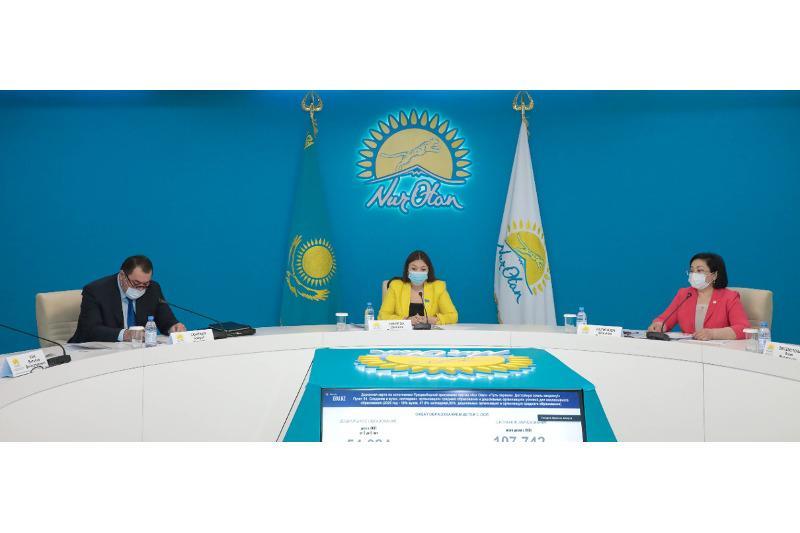 Вопросы профилактики насилия в отношении несовершеннолетних обсудили в «Nur Otan»