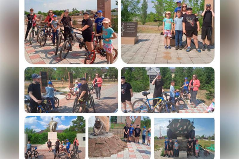 В Павлодарской области школьники устроили велофотокросс по сельским памятникам культуры
