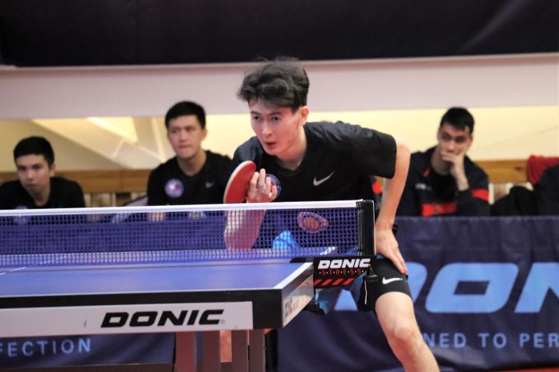 Стартовал открытый командный чемпионат Казахстана по настольному теннису