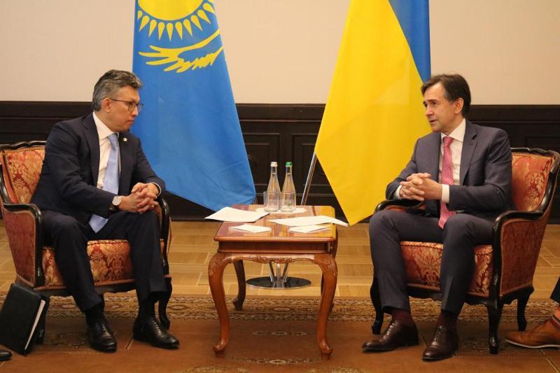 Украина заинтересована в совместном с Казахстаном производстве автомобильной техники