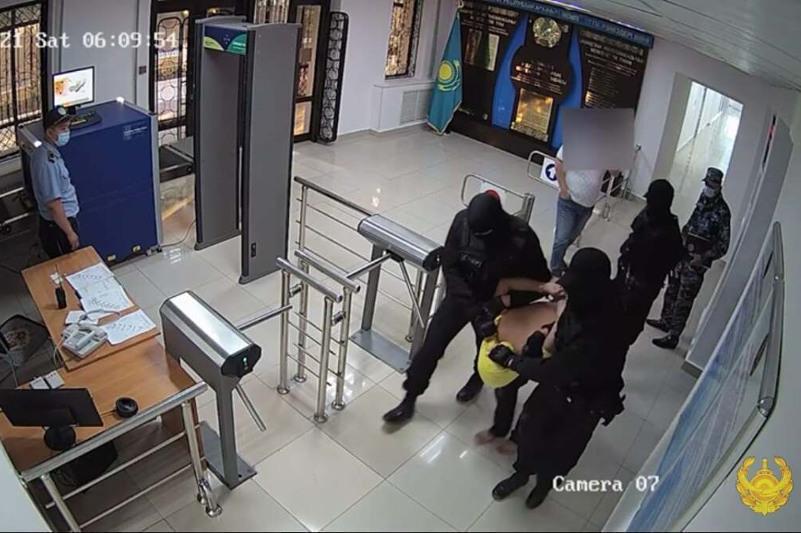 В Кызылорде задержан особо опасный преступник