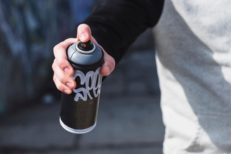 Қызылордада граффити жазбасы арқылы есірткі жарнамалаған бойжеткен ұсталды