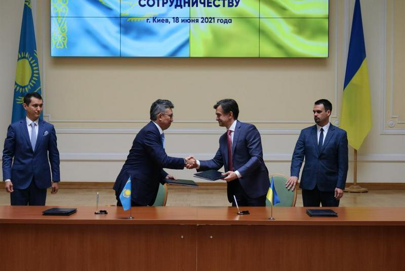 哈乌经济合作委员会第14次会议签署一系列协议