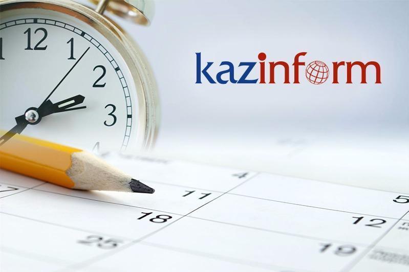 June 19. Kazinform's timeline of major events