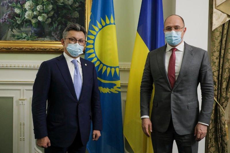 Бахыт Султанов провел ряд встреч с высшими должностными лицами Украины
