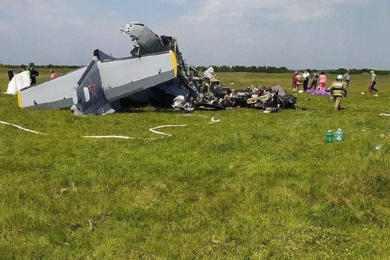 Самолет потерпел крушение в Кемеровской области: семь человек погибли