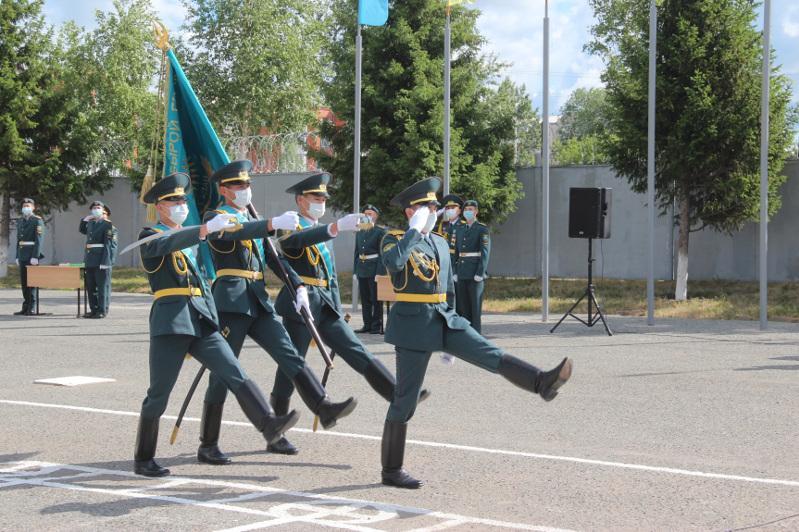 Петропавл әскери институтын биыл Тәжікстан, Қырғызстан азаматтары да бітіріп шықты