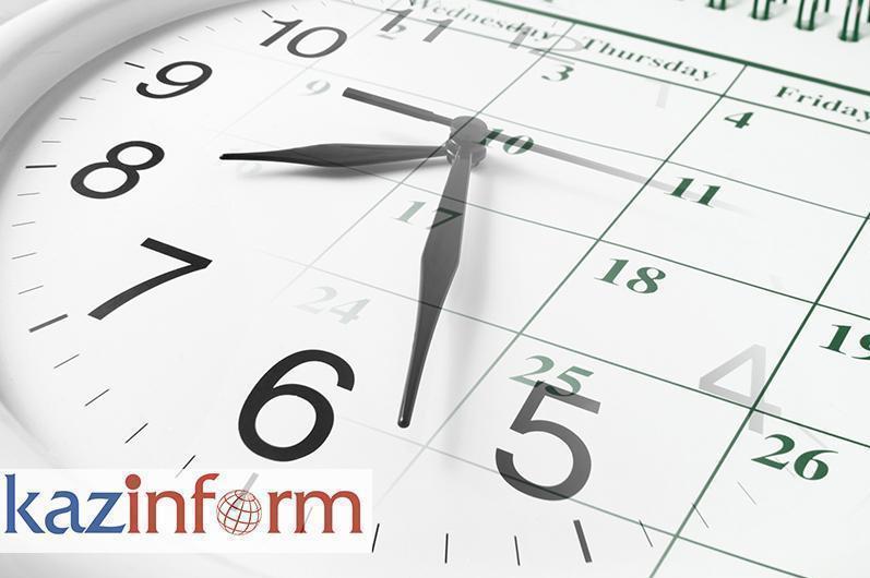 June 20. Kazinform's timeline of major events