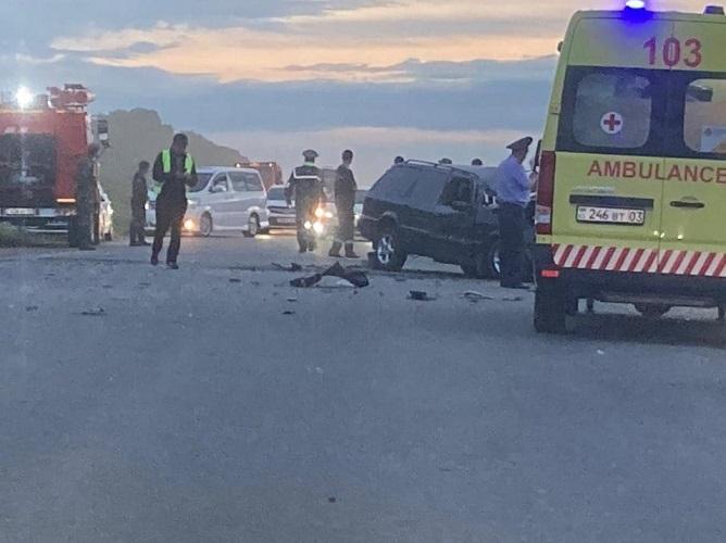 Лобовое столкновение в Акмолинской области: 29-летний водитель погиб