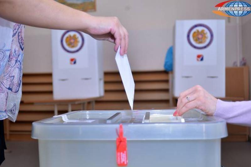 Голосование на внеочередных парламентских выборах началось в Армении