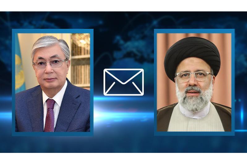Kassym-Jomart Tokayev sent congratulatory telegram to newly elected President of Iran Ebrahim Raisi