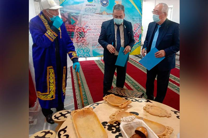 Лучшим мастером по дереву признали подучетного службы пробации в Акмолинской области