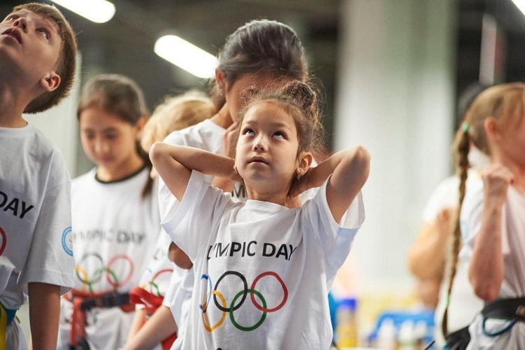 Алматы присоединился к эстафете Олимпийского дня