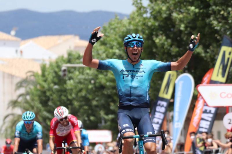 Astana's Omar Fraile wins maiden Spanish Road Race Championship title