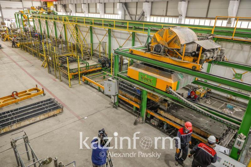 Kazakhstan implemented 201 projects worth KZT 916 bln within industrialization