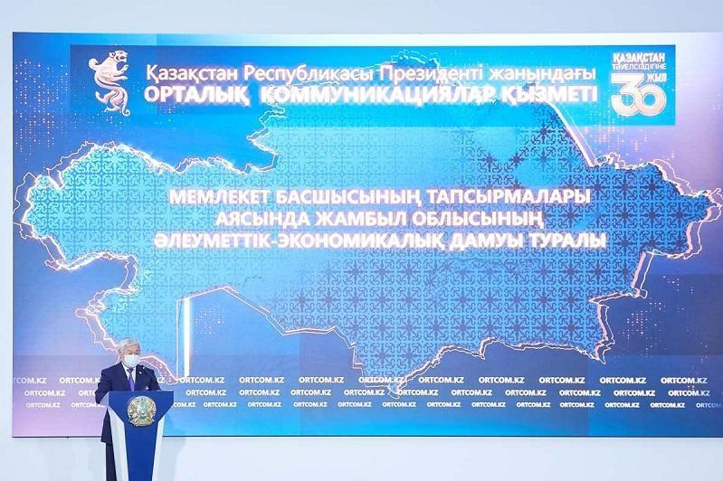 Zhambyl region governor tells about vaccine production plant construction progress