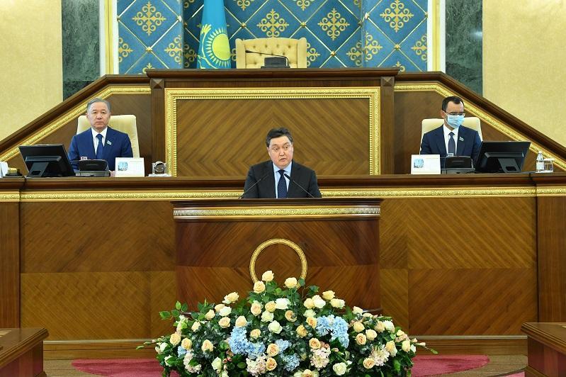 Парламент на совместном заседании палат принял отчет правительства и счетного комитета