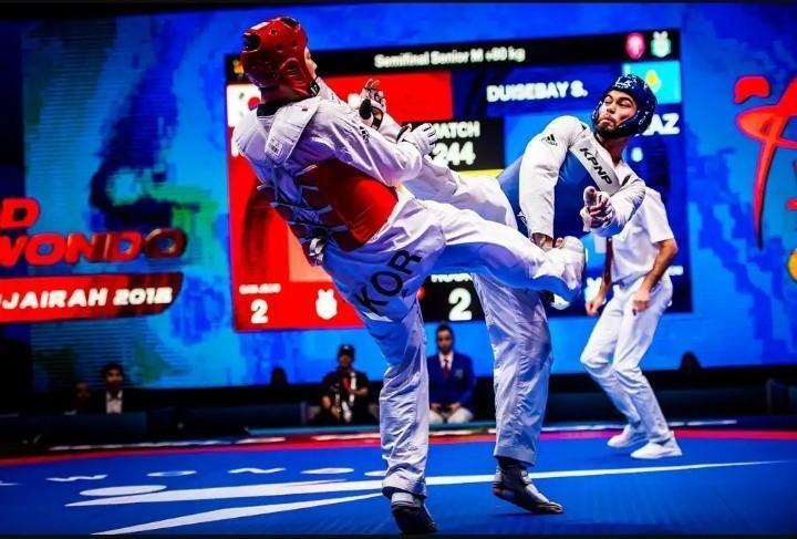 哈萨克斯坦跆拳道队在国际大赛获得9枚奖牌