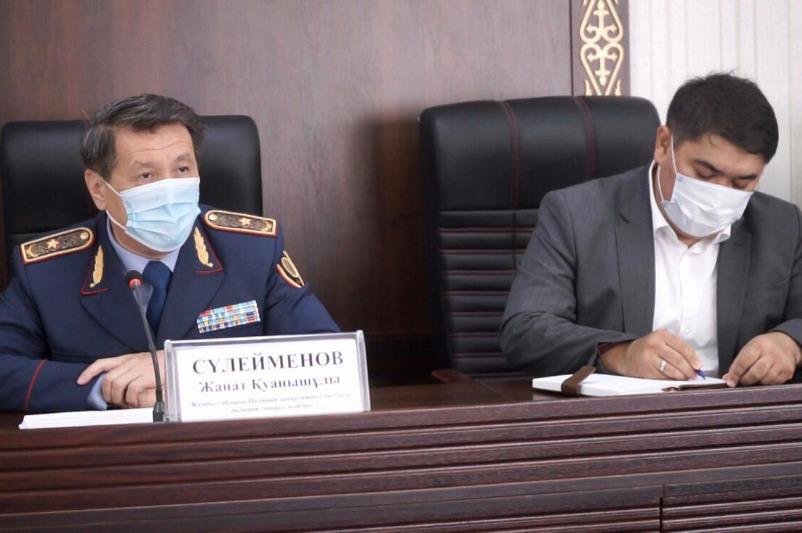 Количество ДТП по вине водителей увеличилось в Жамбылской области