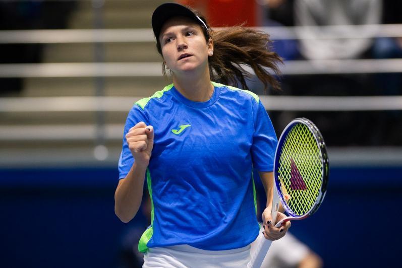 巴特洪堡公开赛:哈萨克斯坦网球选手成功晋级女子双打8强
