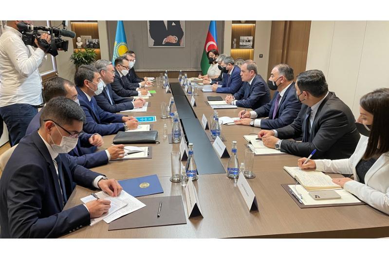 Azerbaijan is Kazakhstan's key partner in South Caucasus and Caspian rgn