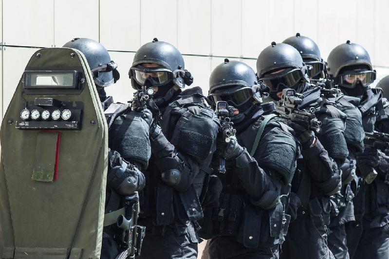阿拉木图市22日举行反恐演习