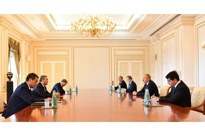 哈萨克斯坦外长对阿塞拜疆进行正式访问
