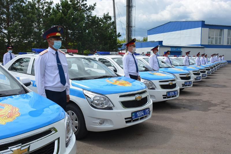 86 новых автомобилей получили участковые в СКО