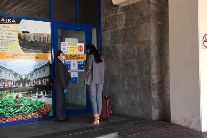Приложение Ashyq заработало в аэропорту и на железнодорожном вокзале Караганды